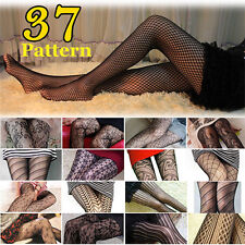 Women Lady Black Sexy Fishnet Pattern Jacquard Stockings Pantyhose Tights New