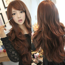 NEW Style Fashion Sexy Women Girl Wavy Curly Long Hair Full Cosplay Party Wigs