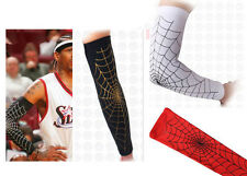 Basketball Spider Web Shooting Arm Sleeve Band Protector