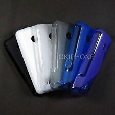 1X New TPU Gel Soft Case Back Cover Skin Pouch For Nokia 208 / Dual SIM Asha 208