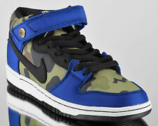 Nike Dunk Mid Pro Premium SB mens lifestyle casual shoes NEW old royal camo