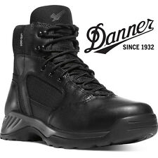"""Danner Kinetic 6"""" Side-Zip GTX Black Work Boots - 28017 - All Sizes Available"""