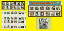 2014 Classic Children's TV, all Royal Mail varieties issued, sold seperately