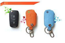 Premium Smart Key Leather Holder Case Cover For 11 12 2013+ Kia Sportage R Ver1