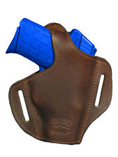 NEW Barsony Brown Leather Pancake Holster Ruger Kimber Small 380 UltraComp 9mm40