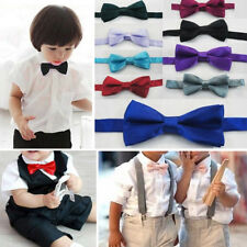 16 Colors Neck Bow Tie for Children Toddler Boy Teen's Formal Suit & Tuxedo USA