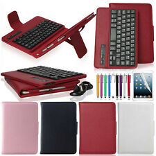 For Apple iPad mini Retina 2 Removable Bluetooth Keyboard PU Leather cover Case