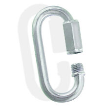 """Zinc Galvanized Steel Quick Links - 1/8"""" to 5/8"""" - 1-1/2"""" to 6"""" - Chain, Ropes"""