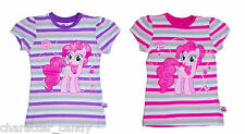 MY LITTLE PONY TSHIRT PINKIE PIE T-SHIRT STRIPED AGE 3-10 YRS  **NEW**     302
