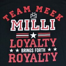 "Meek Mill Self Made ""Loyalty Brings Forth Royalty"" Meek Milli Tee T-Shirt"