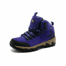 Womens Hiking Ankle High Top Work Shoes Trekking Boots Lace Up Trainers Footwear