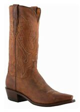 Lucchese M1000.S54 Mens Peanut Brittle Brown Leather Western Cowboy Boots