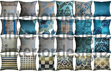 NEW Teal Collection Various Beautiful Designs Luxury Quality Cushion Covers