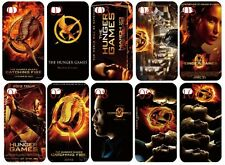 The Hunger Games white hard back cover case for iPhone 5 5s Fast free shipping!
