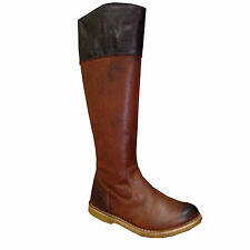KICKERS Bottes cuir CREMA marron femme taille 36