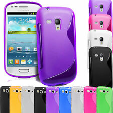 S Line Silicone Gel Case Cover For Samsung Galaxy S3 & S3 Mini