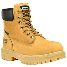 "Men's Timberland Pro Direct Attach 6"" Soft Toe Work Boot Waterbuck Wheat 65030"