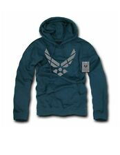UNITED STATES AIR FORCE Basic Printed Pullover Hoodies