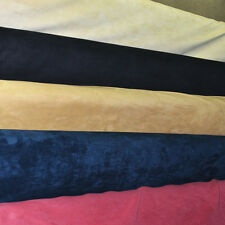 """MICROSUEDE (SUEDE) FABRIC 58"""" WIDE BY THE YARD"""