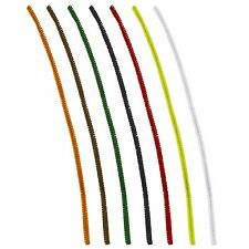 Pack of 100 Pipe Chenille Cleaners - Choose 6 Colors
