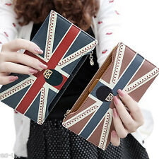 Womens / Ladies Union Jack Purse / Bag / Wallet -- Extra Card Slots -- NEW