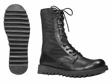 Tactical Boots 8 inch Ripple Sole Jungle MILITARY BLACK  BOOTS  SIZES 5 to 14