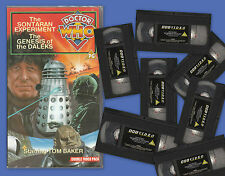 Dr Doctor Who on VHS. Huge range available: please choose!  Vgc and bargain.