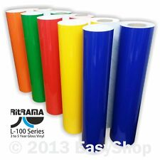 610mm Ritrama Self Adhesive Sign Making Vinyl Color Range Sticky Back Plastic