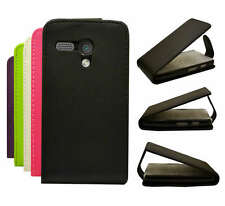 5 Colour Protective Pu Leather Flip Phone Carry Case Cover For Motorola Moto G