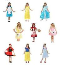 Girls Various Story Book World Book Day Nursery Rhyme Costumes Role Play Disney
