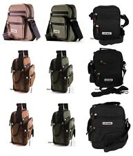 CANVAS MULTI FUNCTIONAL BAG CROSS BODY TRAVEL FLIGHT WORK SHOULDER CAMERA UNISEX