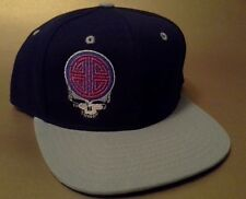 Grateful Dead Steal Your Lu Snapback Hat two tone flat bill Chinese symbol