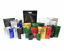 200 x Stand up Foil Sealable Flower Seed Pouch Coffee Pouch Grip Seal Bags