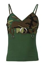 Womens Tank Top - Two-Toned W/Buckle, Woodland Camo by Rothco S-M-L-XL