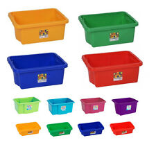 Plastic Storage Boxes & Tubs - Stackable Bins Containers Household DIY Garage