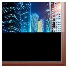 BlackOut Privacy Window Film Total No light in-out Block Free Tools Tint Guide
