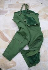 Swedish army surplus vintage fleece lined motorcycle trousers - NEW/OLD STOCK