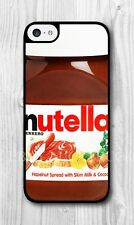 Nutella Hazelnut Spread Chocolate Plastic Rubber NEW iPhone 5C Custom Case IC28