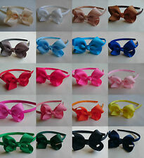 Bow Alice Band Hair Headband Girls/Ladies