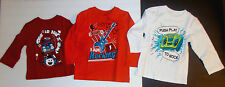 The Childrens Place Infant Toddler Boys T-Shirt Long Sleeve Music Various Size