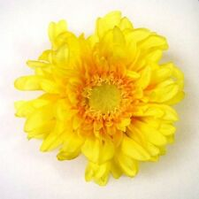 LARGE GERBERA DAISY ARTIFICIAL FLOWER HAIR CLIP/PIN BROOCH
