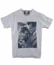 Uptown Classics Wolf Of Wall Street DiCaprio Cult White Crew Neck Tee T-shirt