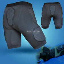 Mens Body Armour Honeycomb Crashproof Protector Basketball Football Short Pants