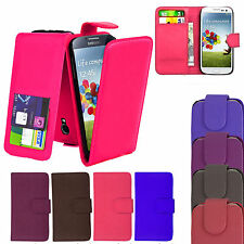 NEW PU LEATHER WALLET FLIP CASE COVER FOR SAMSUNG GALAXY S4 / SIV (i9500)