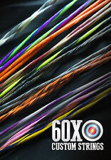 60X Custom Strings & Cable Set for any 2012 Bowtech Bow Color Choice Bowstrings