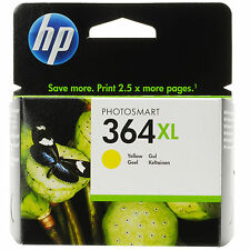 GENUINE OEM HP HEWLETT PACKARD YELLOW PHOTOSMART INK CARTRIDGE 364XL (CB325EE)