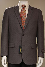 New Mens 2 Button Sport Coat Jacket  Blazer Taupe Brown