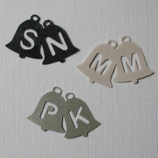 Unique Personalised Table Confetti Joined Bells Initials Wedding Anniversary ++
