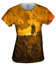 """Yizzam - Dore - """"Paradise Lost 3 Gold""""- New Ladies Top Women Tshirt Tee"""