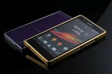 LUXURY Ultra-thin Aluminum Metal Bumper case cover Frame For SONY Xperia Z L36h